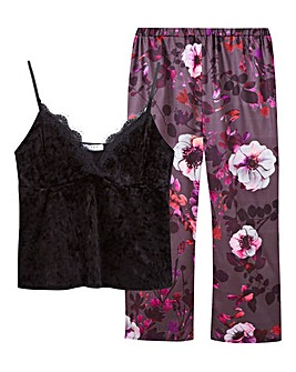 Pretty Secrets Velour Pyjamas