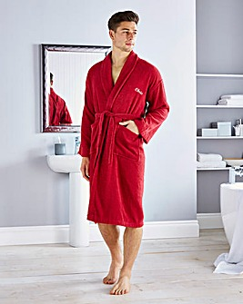 Personalised Gents Towelling Robe