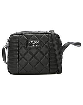 Armani Jeans Mix Quilted Shoulder Bag