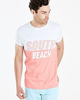 Jacamo South Beach T-Shirt Long