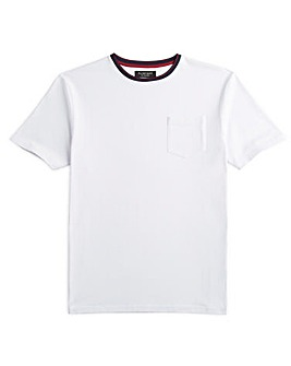 Flintoff By Jacamo Pocket T-Shirt Long