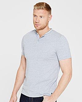 Flintoff By Jacamo Pocket T-Shirt Long