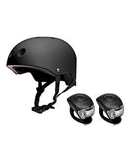 Feral BMX Helmet and Light Pack