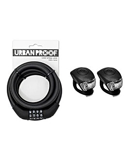 Urban Proof Silicon Lock & Light Set