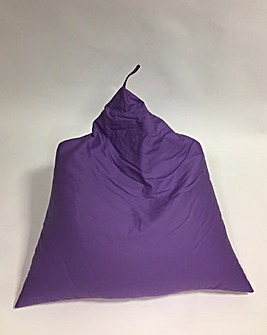 Pyramid Shape Cotton Beanbag