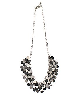 Lizzie Lee Coin Style Necklace