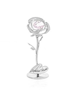 Crystocraft Special Mum Celebration Rose