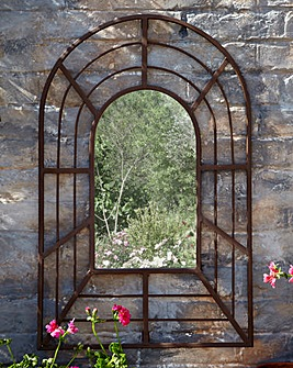 Decorative Antique Pergola Mirror