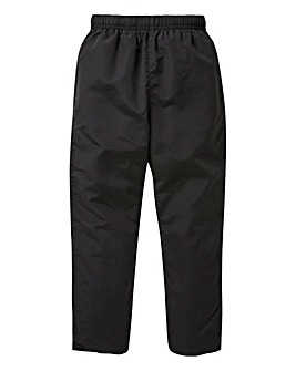 Capsule Black Leisure Trousers 27in