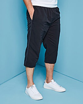 Capsule Black Leisure 3/4 Pants