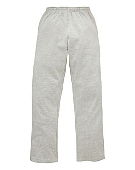 Capsule Grey Straight Hem Jog Pants 29in