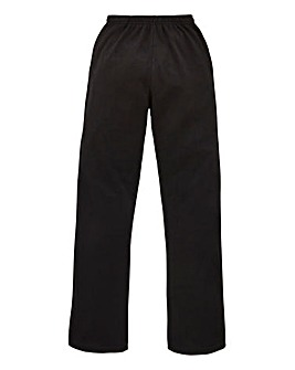 Capsule Black Straight Jog Pants 27in