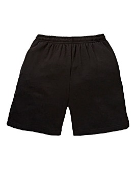 Capsule Black Jog Shorts