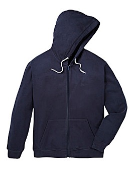 Capsule Navy Full Zip Hoody L