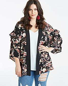 Kimono and Camisole Set