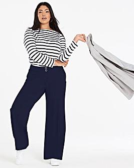 Wide Leg Tailored Trouser Short