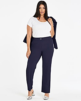 Straight Leg Tailored Trouser Long