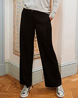 Wide Leg Tailored Trouser Reg