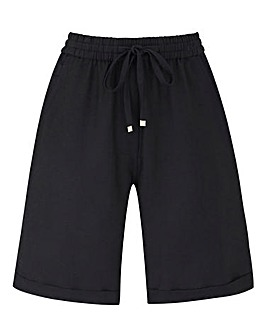Petite Essential Linen Mix Shorts