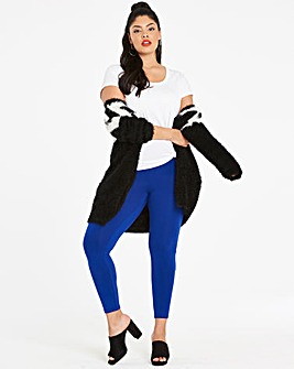 Essential Stretch Jersey Leggings Short