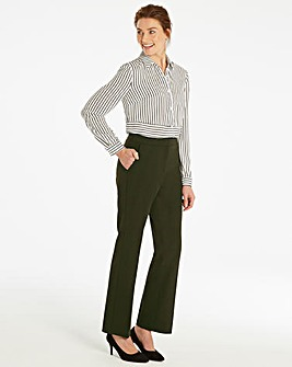 Petite Magi Straight Tailored Trousers