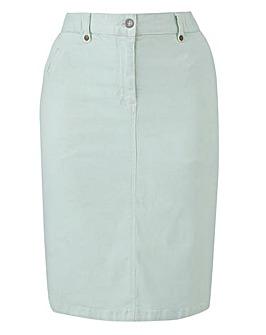 PETITE Stretch Chino Skirt