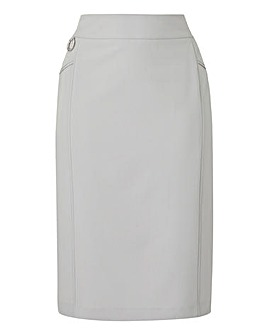 Petite Tailored Pencil Skirt