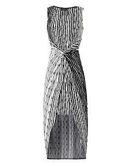 Grace Stripe Twist Dress
