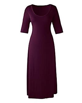 Plain Jersey Dress Length 50in