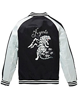 Label J Printed Souvenir Jacket