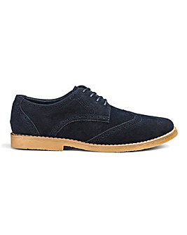 Lace Up Casual Brogues Standard Fit