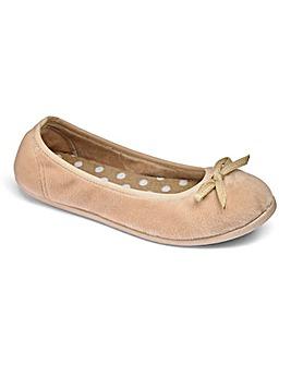 Heavenly Soles Ballerina Slippers E Fit