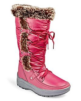 Heavenly Soles Winter Snow Boots EEE Fit