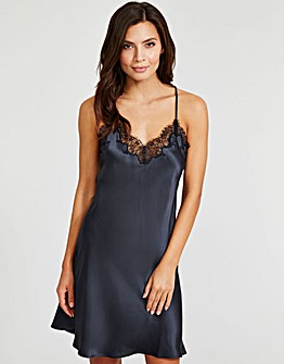 Lana Pure Silk and Lace Chemise