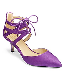 Sole Diva Lace Up Shoes EEE Fit