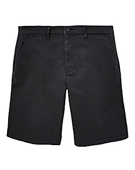 Capsule Black Stretch Chino Shorts