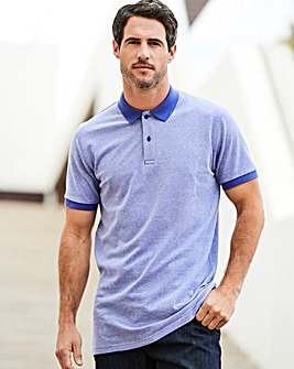 Capsule Purple Birds Eye Polo L