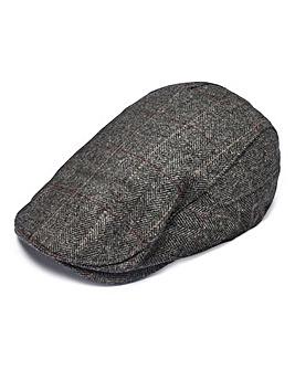 Capsule Dark Grey Flat Cap