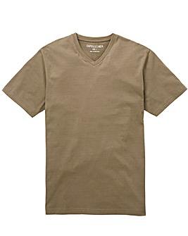 Capsule Khaki V-Neck T-shirt L