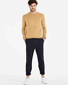 Capsule Mid Brown Crew Neck Jumper R