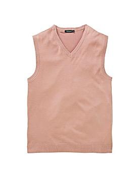 Capsule Dusky Pink V-Neck Slipover R