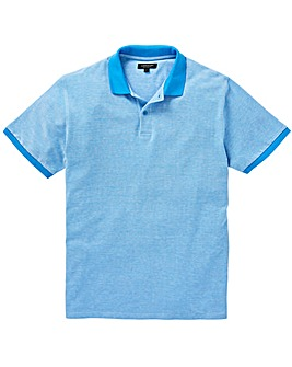 Capsule Blue Birds Eye Polo L