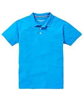 Capsule Blue Short Sleeve Polo L