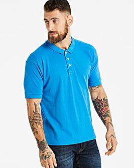Capsule Blue Short Sleeve Polo R