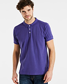 Capsule Purple Short Sleeve Polo R