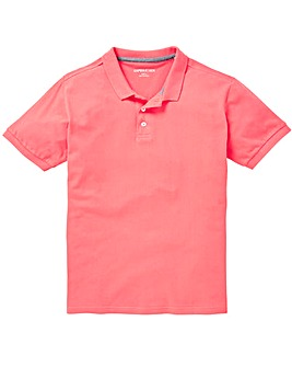 Capsule Coral Short Sleeve Polo L