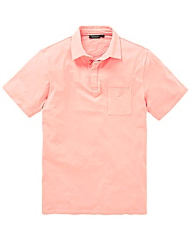 Capsule Pink Stretch Jersey Polo L