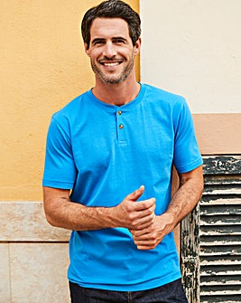 Capsule Blue Grandad T-shirt R