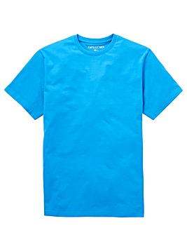 Capsule Blue Crew Neck T-shirt L