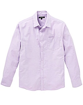 Capsule Lilac L/S Oxford Shirt L
